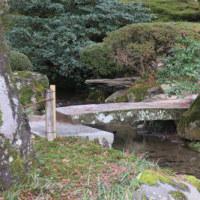 兼六園 橋巡り ⑦その他名前のない橋-2