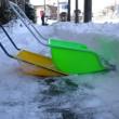 雪かき三昧の土日