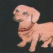 木版画 「犬」