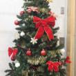 クリスマスツリー、飾りました。