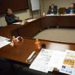 赤須先生を迎え、協働販促事業「北金沢ショップ」の会議です。年末に向けての取り組みを意見交換。