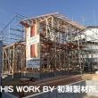 I様邸新築工事(いわき市) ~建て方~