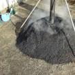 燻炭作りの開始