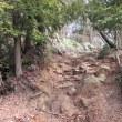 6 木宗山(413m:安佐北区)登山(続き)  山頂への急な斜面を