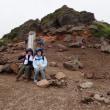 登山ガイド日記 家族の思い出の安達太良山 2017年8月19日