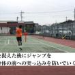 アプローチショット  フォアハンドアプローチショットは、ボールを捉えた後にジャンプ動作を入れていく  〜才能がない人でも上達できるテニスブログ〜