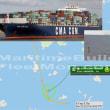 コンテナ船NORMAが中国貨物船と衝突し相手を沈めた
