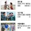 韓国内の映画 NAVER映画の人気順位 と 週末の興行成績 [1月26日(金)~1月28日(日)]