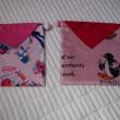 ハンカチ利用の巾着袋4
