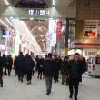 夜の札幌・狸小路の賑わい