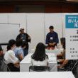 組合のお仕事「加賀棒茶の淹れ方講座(無料)」・・・産業展示館、「全国くらしの陶磁器フェア2018」・・・「茶のみ」さんと「小林」さんが頑張っています。