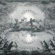 「天国の礼拝に迎えられるキリスト教徒」 ヨハネの黙示録7章9~17節