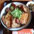 豚丼&かき氷