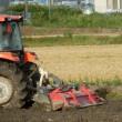 農業の機械化。