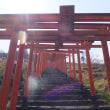 浮羽稲荷神社の百本鳥居