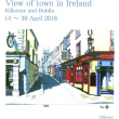 Exhibition  View of town in Ireland