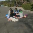 地域の方々との交流給食1・2年生 社会科見学6年生