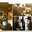 レストランのクリスマスオーナメント