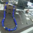 ラピスラズリのネックレスをジェムランド表参道店に出品しました