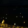 米子の灯篭(とうろう)流し 動画3本あり