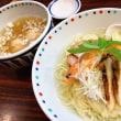 厚切り松茸の豪華絢爛、白だしつけ麺、有頭海老付き夏麺ザファイナル、あけどやにて日曜日まで‼️