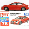 トミカ8月の新車  インプレッサG4