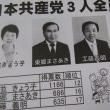滋賀県野洲市議選 共産党は3人全員当選!