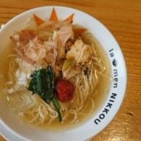 18245 ラーメンにっこう本店@滋賀県彦根市 6月10日 6月の限定冷やしが食べたくてやって来ました!「冷たい塩ラーメン」