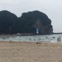 13日タダト浜にて
