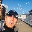 朝からジョギング
