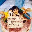 中山選手のバースデイケーキ