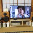 大型テレビの台を作る