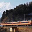 三つ峠を行く189系M51編成 快速 富士山
