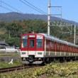 秋雨の晴れ間に生駒線撮影