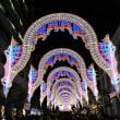 昨夜は神戸のルミナリエへ
