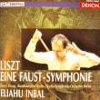 ◇クラシック音楽CD◇エリアフ・インバル指揮ベルリン放送交響楽団のリスト:ファウスト交響曲