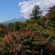 秋の峠に初めて登った