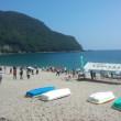 7月1日佐津海岸も海開き
