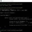 cygwinで遊んでました。sjisファイル文字化けする