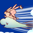 空飛ぶ雲 2パターン