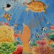 海上保安制度創設70周年記念第19回「未来に残そう青い海・海上保安庁図画コンクール」の長官賞受賞!