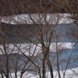 春の奥四万湖