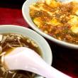 麻婆豆腐丼を頂きました。 at 中華 桃太郎