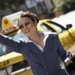 Alipayは、米国タクシーで、Verifoneとタイアップ。