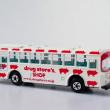 ラッピングバスと子ブタちゃん(campaign bus and piggies)