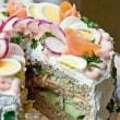 サラダでケーキを作っちゃえ?