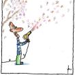 早咲きの梅にウグイス ホー法華経