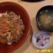 山城町綺田よし家(いえ)の牛丼