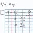 算数でつまずく理由その1「途中の計算式を書かない」