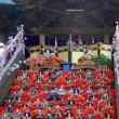 岩槻愛宕神社の大雛壇飾り
